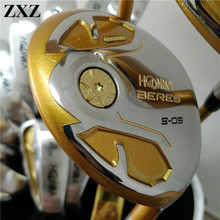 Golf Fairway Honma Bere S-05 4 star golf club sets driver fairway woods Men golf clubs regular or stiff shaft right hand(China)
