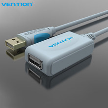 Vention USB2.0 Extension Cable With Amplifier 5m 10m Wire 15FT Type A Male to Type A Female USB Cable For Webcm PC Mouse U Disk(China)
