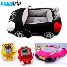 Cool Unique Dog Car Beds Detachable PP Cotton Padded Small Dog House Waterproof Bottom chihuahua Puppy Sofa Bed(China)
