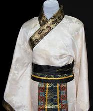Male warrior costume clothing Hanfu costumes of Tang Dynasty chivalrous scholar minister three film Costume