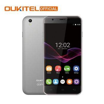 "D'origine Oukitel U7 Max Android 6.0 MTK6580A Quad Core Mobile Téléphone 5.5 ""1280*720 HD Téléphone Portable 1G RAM 8G ROM 2500 mAh Smartphone"