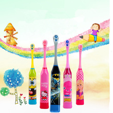 Cute Children Electric Massage Ultrasonic Toothbrush Teeth Care Oral Hygiene Cartoon Tooth Brush Electric Toothbrush For Kids