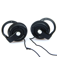 MOONBIFFY Headphones 3.5mm Headset EarHook Earphone For Mp3 Player Computer Mobile Telephone Earphone Wholesale