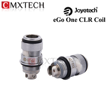 5pcs/lot Original Joyetech eGo ONE CLR Coils  Rebuildable Reuseable 0.5ohm 1.0ohm Heads For Ego One Series Atomizers