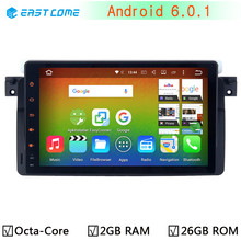 "9"" Android 6.0.1 Octa Core Car DVD Player for BMW 3 Series E46 M3 318i 320i 325i 328i Rover 75 MG ZT 2GB RAM 32GB ROM Radio GPS"