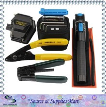 Free Shipping Fiber Optic Cable Tools with Cutter Precision and Visual Fault Locator 1mw