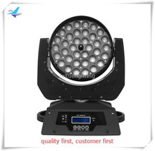 led moving head wash light copy robe robin 600 36 x 10 watt led wash moving head rgbw zoom light(China)