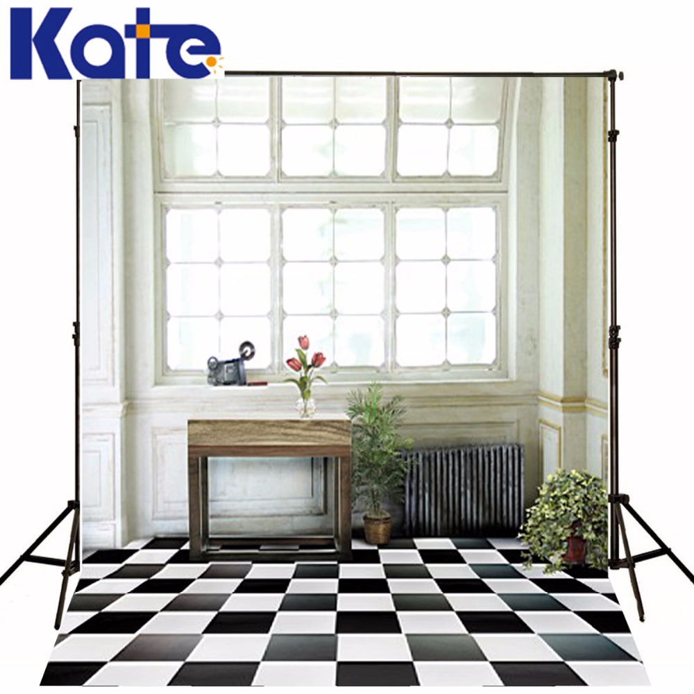 New Arrival Background Fundo Black And White Wooden Table Plant 6.5 Feet Length With 5 Feet Width Backgrounds Lk 2658<br>