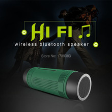 Waterproof Outdoor Bike Sport Wireless Bluetooth Speaker Portable Power Bank Rechargeable LED Bike Headight LED Emergency Light