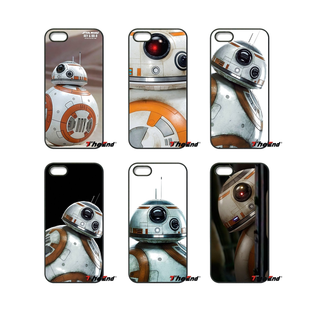 For Huawei Ascend P6 P7 P8 P9 P10 Lite Plus 2017 Honor 5C 6 4X 5X Mate 8 7 9 Star Wars BB8 R2D2 Robot BB-8 Hard Phone Case Cover(China (Mainland))