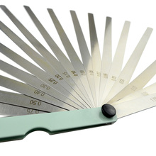 New Arrival 0.02 to 1mm 17 Blade Thickness Length 100mm/ 200mm/ 300mm Gap Metric Filler Feeler Gauge Measure Tool