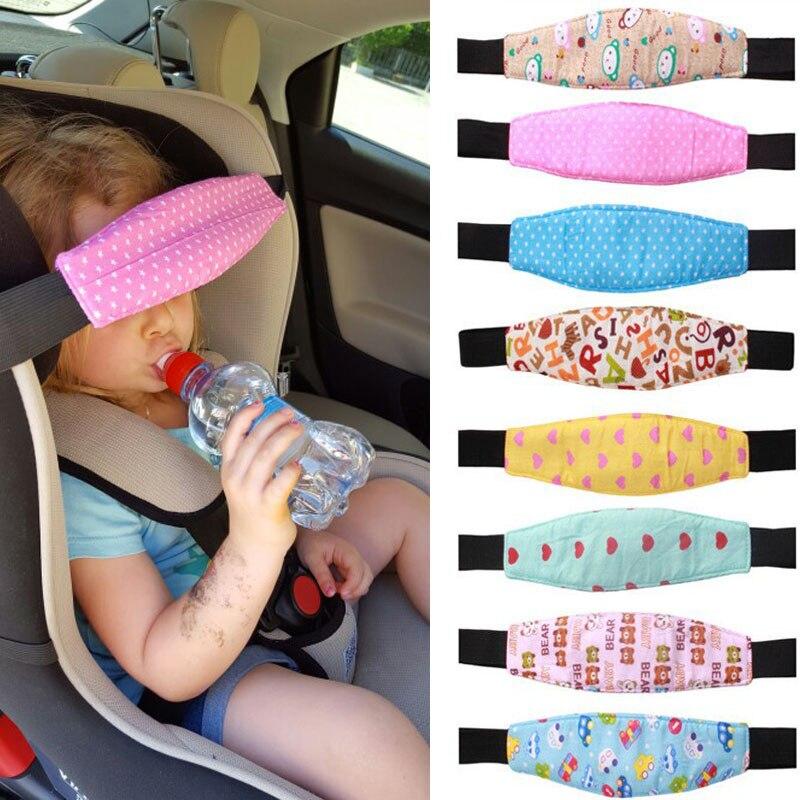 Pram Car Safety Seat Sleep Positioner Stroller Baby Head Support Fastening Belt Adjustable Pram Strollers Accessories<br><br>Aliexpress