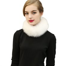 Autumn&Winter Faux Fur Scarves Rabbit Scarf False Clothing Scarf Faux Fur Collar Shawl For Women(China)