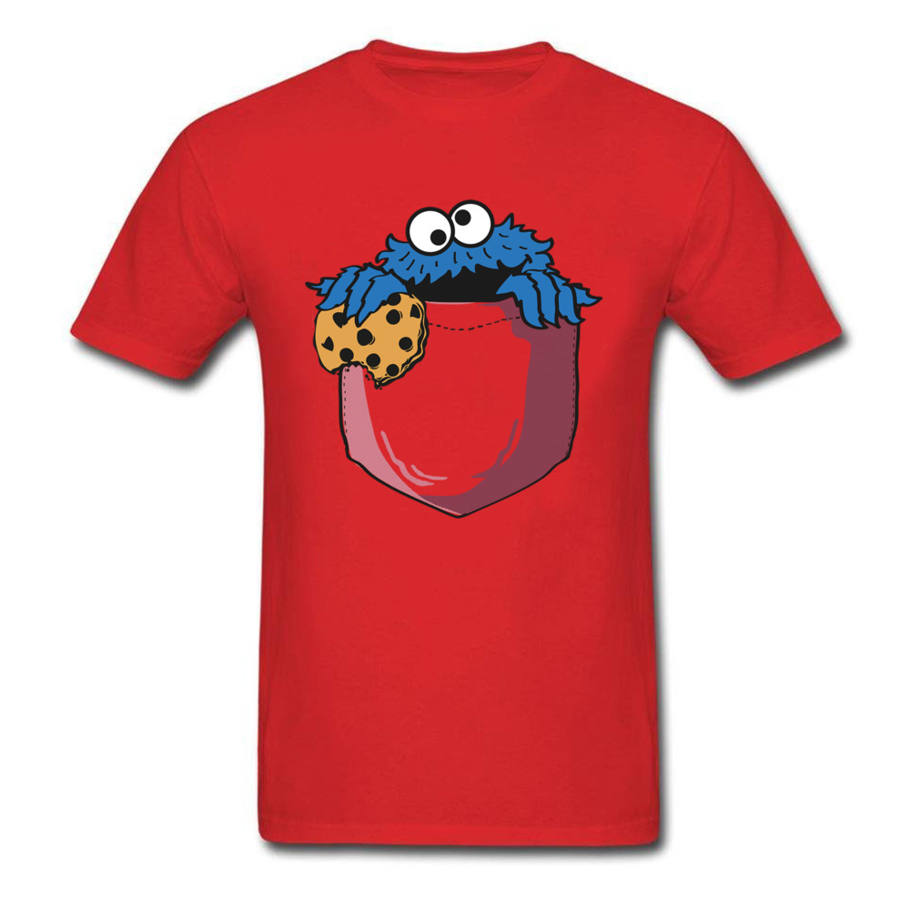 crumbs in my pocket 5964 Mother Day All Coon Crew Neck Tops & Tees Short Sleeve Gift Clothing Shirt Rife Casual Top T-shirts crumbs in my pocket 5964 red