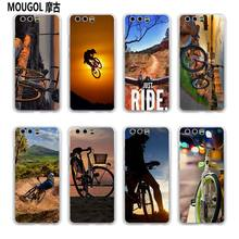 MOUGOL Amazing mountain bike Bicycle MTB design transparent hard case cover for Huawei P10 P9 Plus P8 P9 lite Mate S 9 8(China)