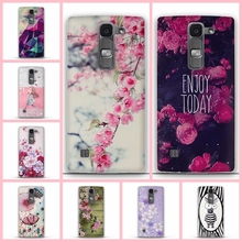 3D Flower Painted For LG Spirit Case Soft TPU Back Cover Phone Cases For LG Spirit 4G LTE H440Y H420 H422 H440N Silicon Shell