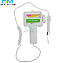 Electronic water Tester water test gauge Pool chlorine pH test(China)