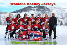 Woman Womens ICE Hockey Jerseys - Custom High Quality Any logo/Name/Number/Color/Size Sewn On XXS-6XL Embroidery Free Shipping