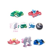 3-4pairs Lovely Finding Nemo Dory Fishes Headwear Baby Girl Hair Accessories PVC+Elastic Bands Kids Girl Party Gift Hair Jewelry