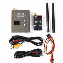 FPV 5.8G 600mW 40Channel Wireless Audio/Video A/V Transmitting/Receiving System Combo Module for FPV, TS832+RC832(China)