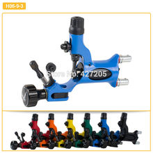 Dragonfly Style Rotary Tattoo Machine for Line and Shader Body Art Tattoo Machine Gun Blue Free Shpping(China)