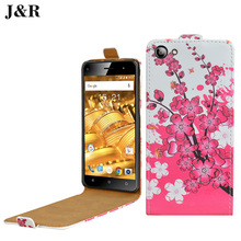 Cover For Fly FS507 case fashion Printing Vertical Magnetic Leather cover For Fly Cirrcus 4 FS507 FS 507 Mobile Phone Bag&Girl