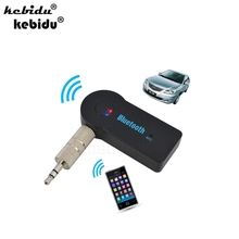kebidu High Quality 3.5mm Car Bluetooth Audio Music Receiver Adapter Auto AUX Streaming A2DP Kit for Speaker Headphone(China)