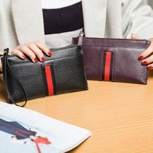 Fashion Women Real Leather Wallets Female Nature Skin Clutch Phone Purse Ladies Genuine Leather Make Up Purse CZ4607