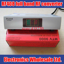 RF408 full band Frequency Agile modulator / RF converter / audio and video converter AV to RF