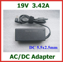 AC DC Adapter 19V 3.42A 5.5*2.5mm 5.5x2.5mm Power Adapter Supply Charger for Laptop High Quality(China)