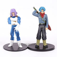 Dragon Ball Z Trunks PVC Figure Collectible Model Toy 2 Styles 17cm(China)