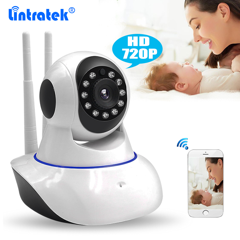 Dual Antenna Wireless Home CCTV Security Camera HD 720P Wifi IP Camera Baby Monitor Pan/Tilt/Zoom Night Vision Yoosee P2P Remote<br>