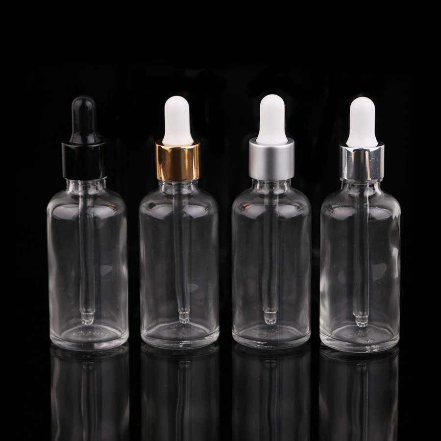 12 Pcs 5/3 oz 50ml Round frosted Glass Bottle vials For Essential Oils romatherapy serum toner perfum With Pipette Eye Dropper(China (Mainland))