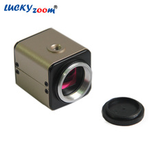 Lucky Zoom Brand 2MP Av  Digital Camera Microscope Electronic High Resolution CCD Camera Microscope Accessories
