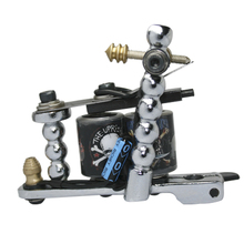 Professional Casting Iron Tattoo Machine Guns For Liner And Shader 10 Warps Handmade Coil Machine PC-TM-6602-1A