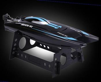 Free shipping Double Horse 7014 2.4G high-speed 25km/h rc boat toys Speedboats shuangma model Electric remote control children