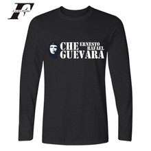 LUCKYFRIDAYF Argentina Hero Tshirt Boy Long Sleeve Autunm Casual Cool Tee Shirts Fashion Che Guevara High Quality Cotton T-shirt(China)