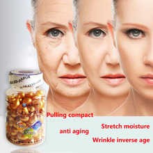 fast anti wrinkle and moisturizing in 7 days essence and wrinkle remove capsules 90 pcs with free shipping
