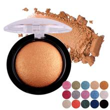 Miss Rose 1Pc Single Baked Eyeshadow Palette Cosmetics Shimmer Metallic Pearly Glow Eye shadow Makeup Powder Y3