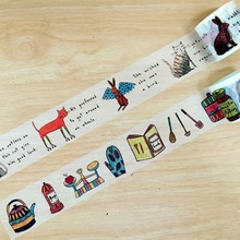 Free shipping 38mm*5m Crayon Style high quality washi tape/Beautiful Animal and Crayon Style and Dog masking japan washi tape