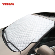 YIKA Car Window Sunshade Car Covers For SUV And Ordinary Car Sun Shade Reflective Foil Car Windshield Anti-UV(China)