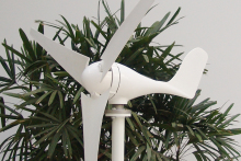 hot sale 200w 12v mini wind turbine for charging battery