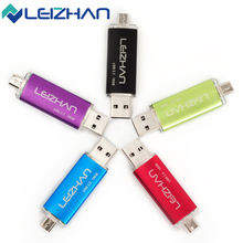 ELIZHAN Newest Original Price OTG USB Flash Drive Smart Phone Pendrives USB 2.0 4GB 8GB 16GB 32GB OTG Pen Stick Memory Minisions