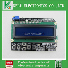 1pcs LCD Keypad Shield of the LCD1602  LCD1602A  V2.0 character LCD input and output expansion board