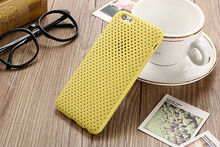 Dir-Maos For iPhone 6 6s Case 4.7'' Soft Air Net Grid Cover Light Soft Regular ARMOR Drop Proof Strong Protector Hot Light Weigh