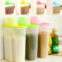 Grains Plastic Storage Box Kitchen Accessories Candy Beans Food Container(China)