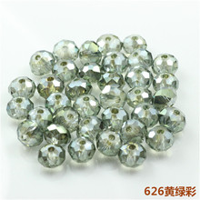 3MM 150PCS/LOT New Faceted Bead Crystal Glass Rondelle Bead for Chandeliers Crystal Spacer Loose Beads Bulk wholesale