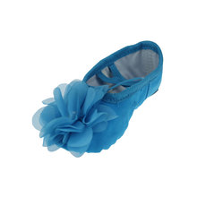 MSMAX B122 Girls Dance Shoes Soft Ballet Flats Children Indoor Yoga Shoes Kids Latin Ballet Shoes Ballroom Practice Shoe(China)