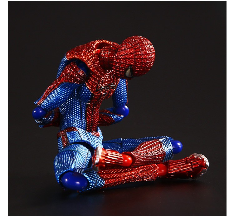 Hot sell super hero spider-man 15cm PVC Action Figure toys dolls spider man Model collection Christmas gifts for the children<br><br>Aliexpress