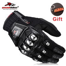 Alloy Steel Brand Racing Motorcycle Gloves Motocross Moto Gloves Knight Guanti Motorbike Protective Guantes Luvas Para Moto